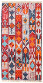 Barchi/Moroccan Berber - Afganistan Matta 91X171 Äkta Modern Handknuten Roströd/Ljuslila (Ull, Afghanistan)