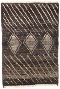 Barchi/Moroccan Berber - Afganistan Rug 119X173 Authentic  Modern Handknotted Dark Brown/Light Brown (Wool, Afghanistan)