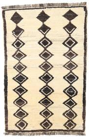 Barchi/Moroccan Berber - Afganistan Matto 112X170 Moderni Käsinsolmittu Beige/Tummanruskea (Villa, Afganistan)