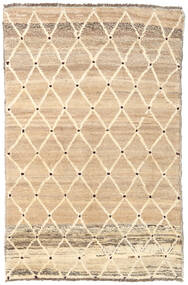 Barchi/Moroccan Berber - Afganistan Matta 121X187 Äkta Modern Handknuten Mörkbeige/Ljusbrun/Beige (Ull, Afghanistan)