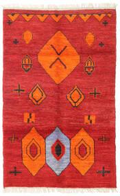 Barchi/Moroccan Berber - Afganistan Matto 109X172 Moderni Käsinsolmittu Ruoste/Punainen (Villa, Afganistan)