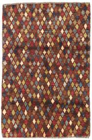 Barchi/Moroccan Berber - Afganistan Matto 119X182 Moderni Käsinsolmittu Tummanruskea/Tummanpunainen (Villa, Afganistan)
