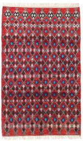 Barchi/Moroccan Berber - Afganistan Teppich  113X188 Echter Moderner Handgeknüpfter Rot/Dunkelrot (Wolle, Afghanistan)
