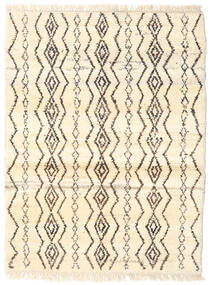 Barchi/Moroccan Berber - Afganistan 絨毯 98X128 モダン 手織り ベージュ/薄茶色 (ウール, アフガニスタン)