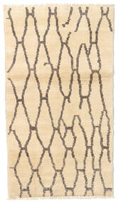 Barchi/Moroccan Berber - Afganistan Rug 90X135 Authentic  Modern Handknotted Beige/Light Grey (Wool, Afghanistan)