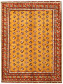 Afghan Matta 175X234 Äkta Orientalisk Handknuten Orange/Ljusbrun/Roströd (Ull, Afghanistan)