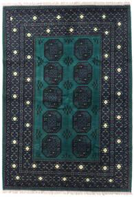 Afghan Vloerkleed 176X251 Echt Oosters Handgeknoopt Donkerblauw/Donker Turkoois (Wol, Afghanistan)