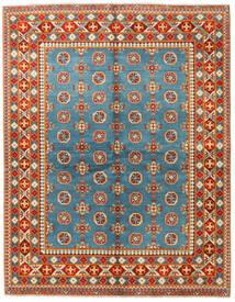 Afghan Vloerkleed 152X195 Echt Oosters Handgeknoopt Blauw/Lichtbruin (Wol, Afghanistan)