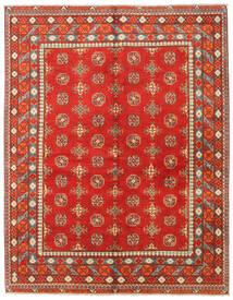 Afghan Teppich  155X199 Echter Orientalischer Handgeknüpfter Rost/Rot/Rot (Wolle, Afghanistan)