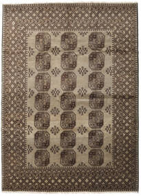 Afghan Rug 196X284 Authentic Oriental Handknotted Dark Brown/Light Brown (Wool, Afghanistan)