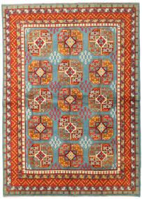 Afghan Teppe 166X234 Ekte Orientalsk Håndknyttet Orange/Rød (Ull, Afghanistan)