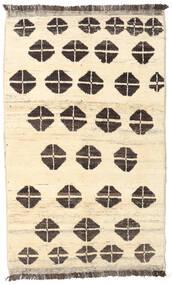 Barchi/Moroccan Berber - Afganistan Rug 116X182 Authentic  Modern Handknotted Beige/Dark Beige (Wool, Afghanistan)