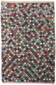 Barchi/Moroccan Berber - Afganistan 絨毯 204X298 モダン 手織り 濃いグレー/深紅色の (ウール, アフガニスタン)