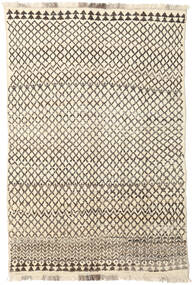 Barchi/Moroccan Berber - Afganistan Rug 195X295 Authentic  Modern Handknotted Beige/Light Brown (Wool, Afghanistan)