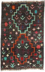 Barchi/Moroccan Berber - Afganistan Dywan 198X303 Nowoczesny Tkany Ręcznie Czarny/Ciemnoszary (Wełna, Afganistan)