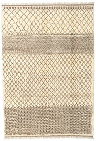 Barchi/Moroccan Berber - Afganistan Rug 166X235 Authentic  Modern Handknotted Beige/Light Brown (Wool, Afghanistan)