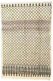 Barchi/Moroccan Berber - Afganistan Rug 163X245 Authentic  Modern Handknotted Beige/Dark Brown (Wool, Afghanistan)