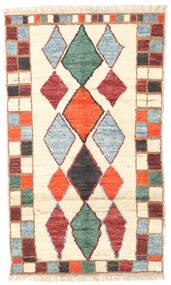 Barchi/Moroccan Berber - Afganistan Matto 113X193 Moderni Käsinsolmittu Beige (Villa, Afganistan)