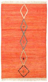 Barchi/Moroccan Berber - Afganistan Matto 118X197 Moderni Käsinsolmittu Punainen/Oranssi (Villa, Afganistan)