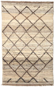 Barchi/Moroccan Berber - Afganistan Rug 118X191 Authentic  Modern Handknotted Beige/Light Grey (Wool, Afghanistan)