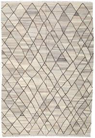 Kilim Ariana Rug 204X297 Authentic Modern Handwoven Light Grey/Beige (Wool, Afghanistan)
