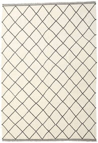 キリム Ariana 絨毯 208X298 モダン 手織り ベージュ/ホワイト/クリーム色 (ウール, アフガニスタン)