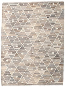 Kilim Ariana Rug 182X252 Authentic  Modern Handwoven Light Grey/Beige (Wool, Afghanistan)