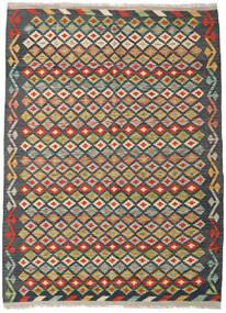 Килим Афган Старый Стиль Ковер 159X219 Сотканный Вручную Темно-Серый/Темно-Синий (Шерсть, Афганистан)