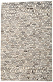 Kilim Ariana Rug 208X318 Authentic  Modern Handwoven Light Grey/Beige (Wool, Afghanistan)