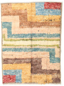 Barchi/Moroccan Berber - Afganistan Rug 136X188 Authentic  Modern Handknotted Light Brown/Light Pink (Wool, Afghanistan)