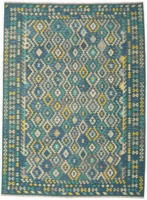 Kilim Afghan Old Style Rug 253X342 Authentic  Oriental Handwoven Large (Wool, Afghanistan)
