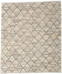 Kilim Ariana Rug 254X295 Authentic  Modern Handwoven Light Grey Large (Wool, Afghanistan)