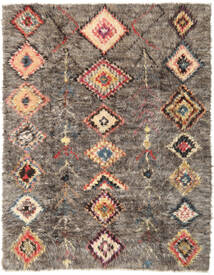 Barchi/Moroccan Berber - Afganistan Rug 237X301 Authentic  Modern Handknotted Light Brown/Dark Grey (Wool, Afghanistan)