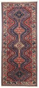 Yalameh Teppich  80X195 Echter Orientalischer Handgeknüpfter Läufer Dunkelrot/Dunkellila (Wolle, Persien/Iran)