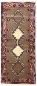 Yalameh Matto 85X200 Itämainen Käsinsolmittu Käytävämatto Tummanpunainen/Ruskea (Villa, Persia/Iran)