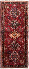 Ghashghaï Tapis 116X278 D'orient Fait Main Tapis Couloir Rouge Foncé/Noir (Laine, Perse/Iran)