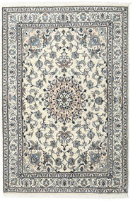 Nain Rug 168X250 Authentic  Oriental Handknotted Dark Grey/Beige (Wool, Persia/Iran)