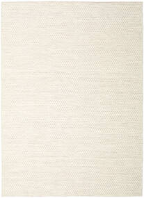 Kelim Honey Comb - Beige Vloerkleed 210X290 Echt Modern Handgeweven Beige/Wit/Creme (Wol, India)