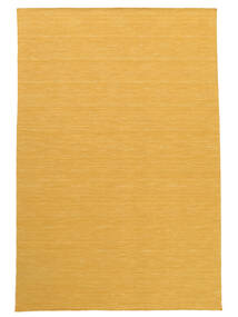 Kilim Loom - Yellow Rug 250X350 Authentic  Modern Handwoven Light Brown/Dark Beige Large (Wool, India)