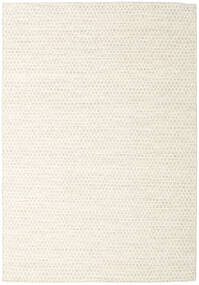 Kilim Honey Comb - Beige Rug 160X230 Authentic  Modern Handwoven Beige/White/Creme (Wool, India)
