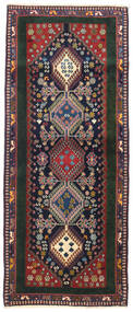 Yalameh Rug 84X203 Authentic  Oriental Handknotted Hallway Runner  (Wool, Persia/Iran)