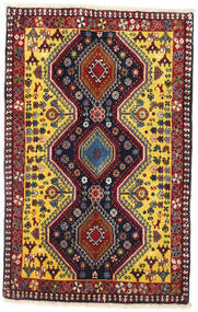 Yalameh Rug 62X97 Authentic  Oriental Handknotted (Wool, Persia/Iran)