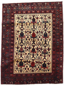 Afshar Rug 127X171 Authentic  Oriental Handknotted Dark Red/Brown (Wool, Persia/Iran)