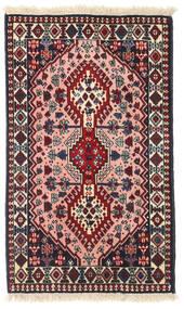 Yalameh Teppich 61X101 Echter Orientalischer Handgeknüpfter (Wolle, Persien/Iran)