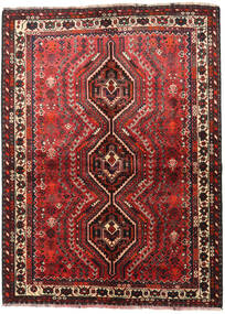 Shiraz Rug 155X210 Authentic  Oriental Handknotted (Wool, Persia/Iran)