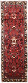Shiraz Tapis 100X307 D'orient Fait Main Tapis Couloir Rouge Foncé/Rouille/Rouge (Laine, Perse/Iran)