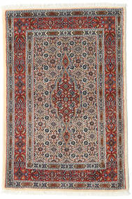 Moud Rug 80X119 Authentic  Oriental Handknotted (Wool/Silk, Persia/Iran)