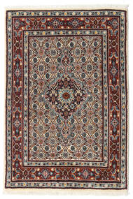 Moud Rug 77X114 Authentic  Oriental Handknotted (Wool/Silk, Persia/Iran)