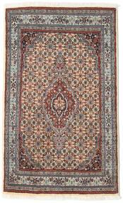 Moud Alfombra 74X122 Oriental Hecha A Mano Gris Claro/Beige (Lana/Seda, Persia/Irán)