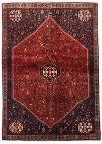 Abadeh Rug 124X176 Authentic  Oriental Handknotted Dark Red/Dark Brown (Wool, Persia/Iran)